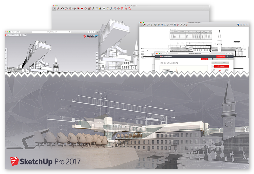 SketchUp PRO 2017 Training for Interior Design-Glasgow
