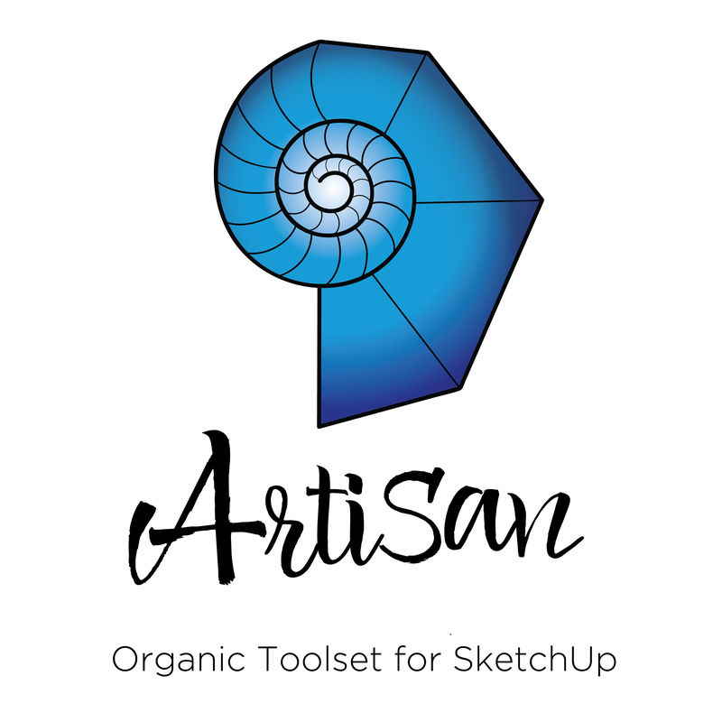 Artisan Organic Toolset for SketchUp - Installation Service - SEE-IT-3D