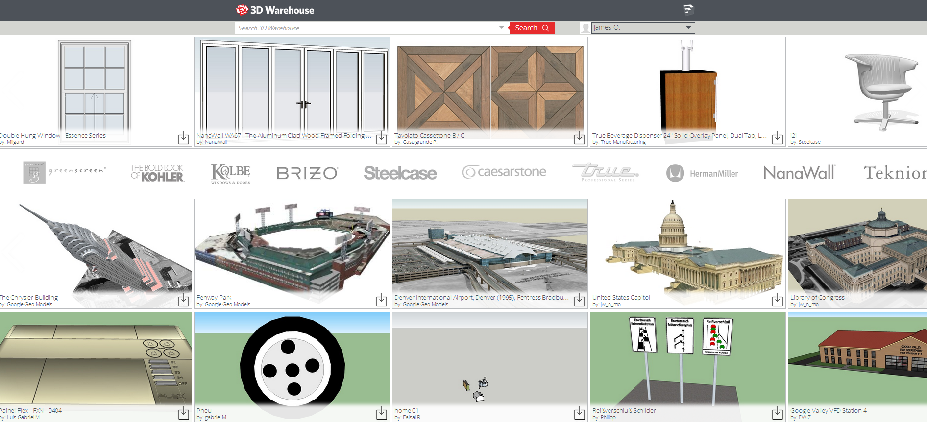 3D Warehouse