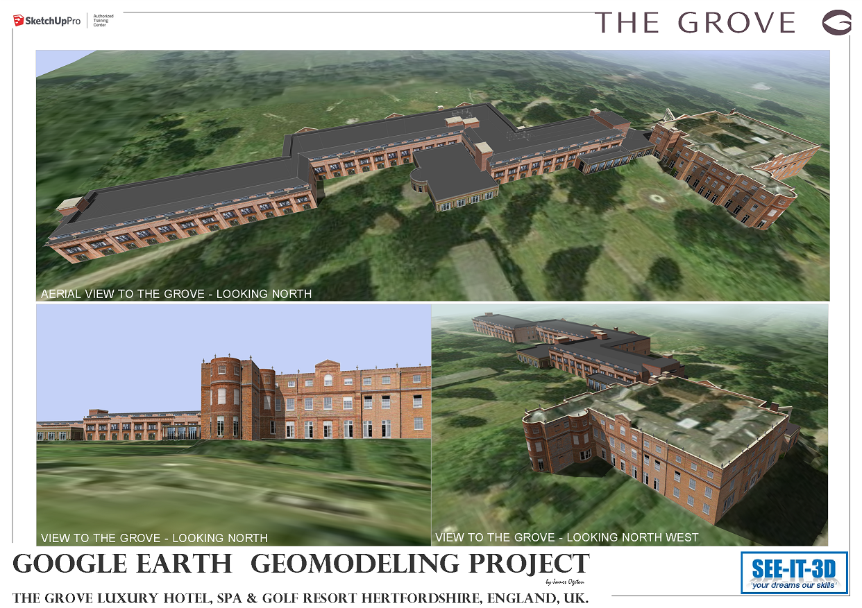 SketchUp Training London | ATC Certified | Geomodelling | See It 3D
