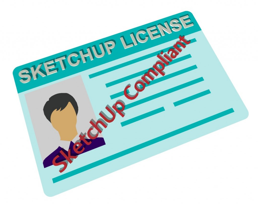 sketchup license compliance