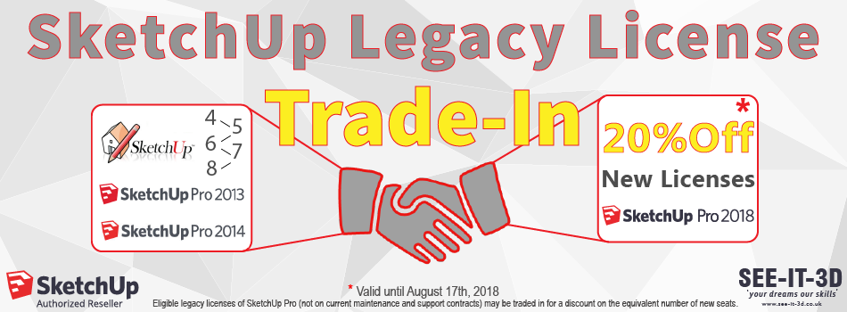 SketchUp legacy license trade-in