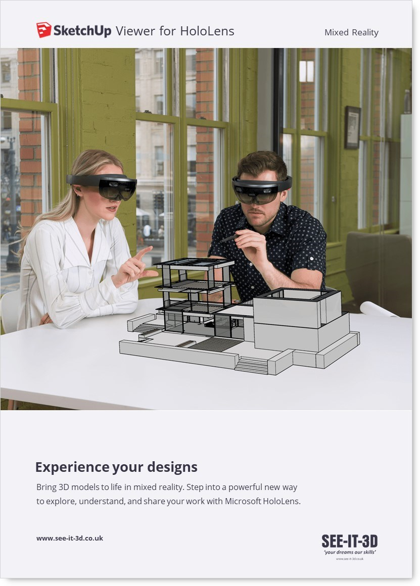 SU-SketchUp Viewer for HoloLens SEEIT3D