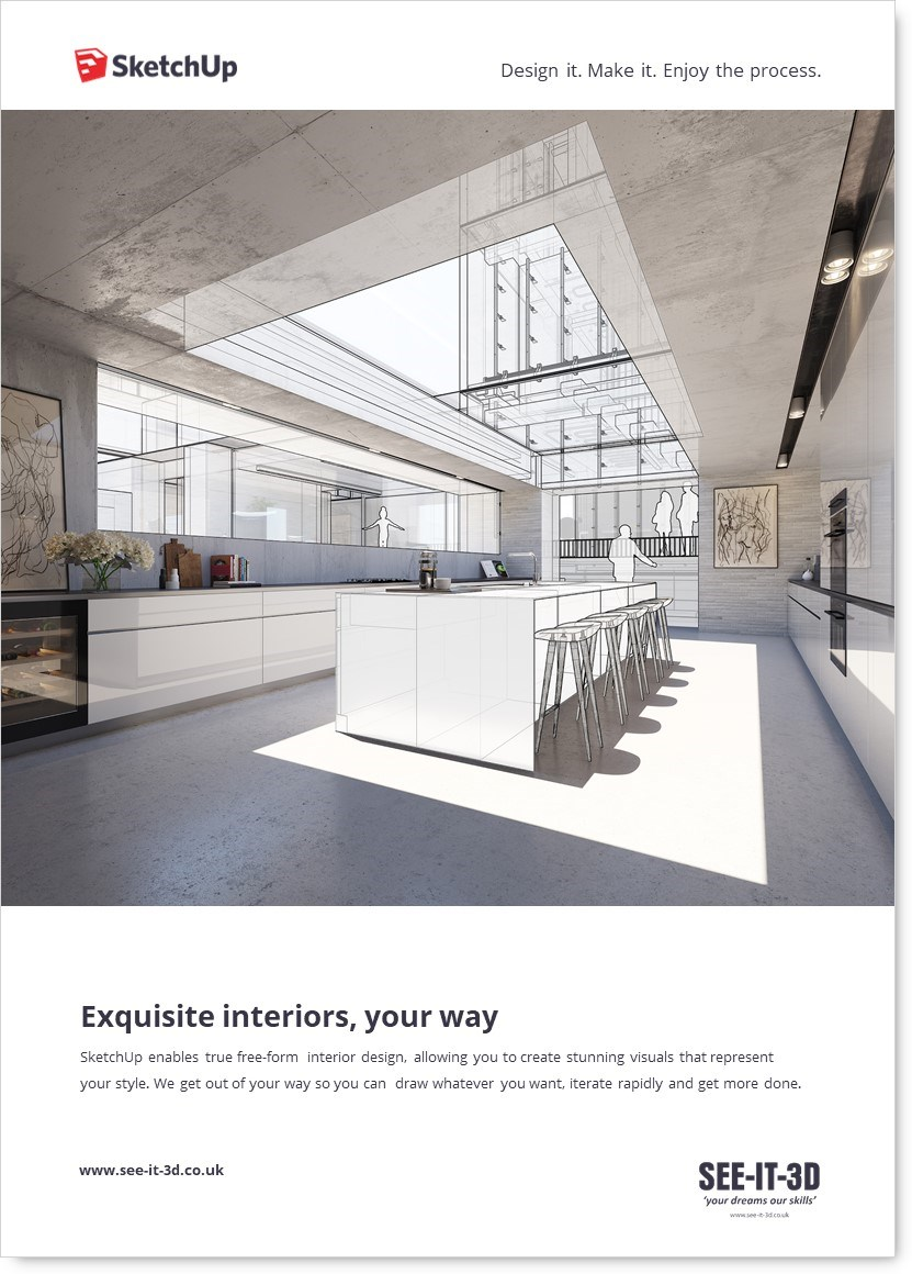SU-SketchUp for Interior Design SEEIT3D